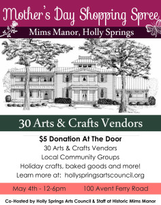 Mims Manor - Mother's Day Shopping Spree